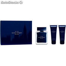 ✅ estuche narciso rodriguez for him bleu noir edt 100 ml + gel de ducha 75