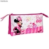 Estuche Portatodo Triple Minnie Mouse Style