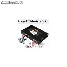 Estuche profesional 300 fichas poker bicycle