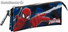 Estuche Spiderman Triple