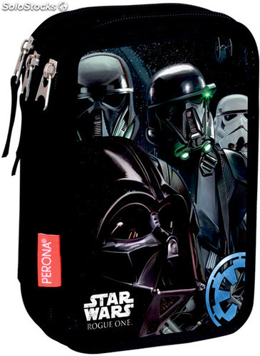 Estuche Star Wars Rouge One Triple 44 Piezas