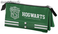Estuche Triple Harry Potter Slytherin