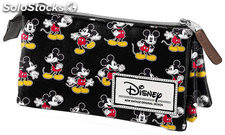 Estuche Triple Mickey Mouse Moving
