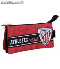 Estuche vacío triple athletic club de bilbao cyp pt-53-ac