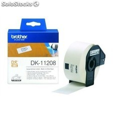 Etiquetas para impresora brother dk11208 38 x 90 mm blanco