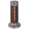 Eurom Estufa de patio plateada Under Table Heater 900 W 333589