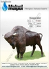 European Bison Art No. M023