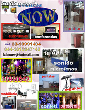 Eventos now Guadalajara, Jal. Tel: (044)3312647143 cel con Whats