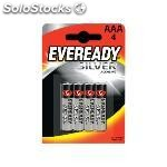 Eveready pilas alcalinas pack 4 ud AAA LR03 637330