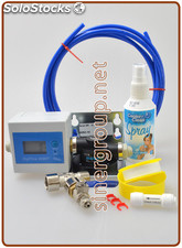 "Everpure Kit installazione assemblato IN-OUT 1/4""-1/4"" - innesto a muro 3/8"""