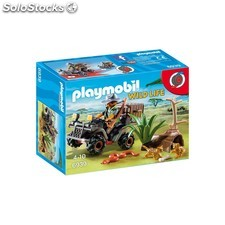 Explorador con quad playmobil