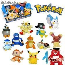 Exposant 12 Peluches Pokemon (18cm)
