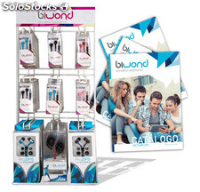 Expositor BIWOND + Pack 53 Auriculares