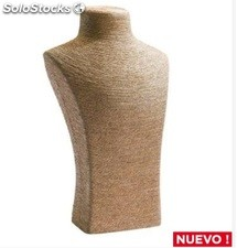Expositor busto natural