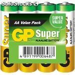Expositor de pilas alcalinas AA/LR6 1.5 v super 48 packs de 4 pcs