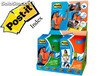 Expositor post-it photo paper papeles surtidos en formatos a4 y a6 en brillo y