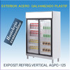 Expositor Refrig.Vertical coreco agpc-125
