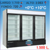Expositor Refrigerado vertical artic 1500 tf 3P led