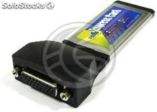 ExpressCard Serial Parallel Card 1xDB25 1xDB9 (TP62)