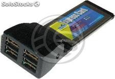 ExpressCard usb 2.0 4-Port (4AH) (US42)