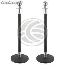 Extendable Pole Stainless black lace 320x51x1000mm 2 units (BB53-0002)