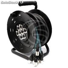 Extension Cable Reel 8 channel DMX512 dmx XLR3 15m (XR11)