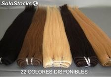 Extensiones de Cortina Cabello 100% Natural 100Gr. y 53cm. de Largo