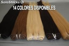 Extensiones de Cortina Cabello 100% Natural 100Gr. y 65cm. de Largo