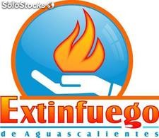 Extintores abc, co2, afff