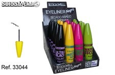eye liner leticia well negro secado rapido(0.55 unidad)pack 20