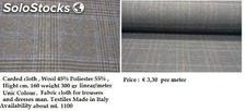 Fabric cloth for trousers and dresses man