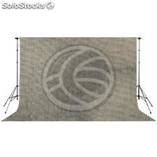 Fabric studio background grey colored 600x300cm (JI63)
