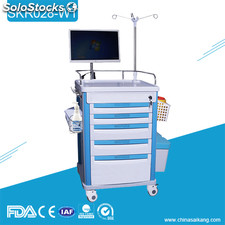 Fabriqué en Chine de haute qualité simple Medical Medical Nursing Trolley