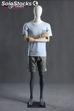faceless male mannequin articulated arms and hands