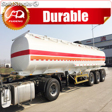 Factory supply transporting fuel tanker semi trailer,used oil tanker for sale