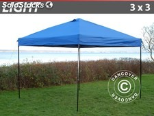 Faltzelt FleXtents Light 3x3m Blau