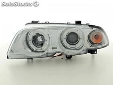 Faros delanteros angel eyes bmw serie 3 berlina (E46) 98-01