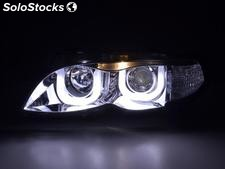 Faros delanteros Angel Eyes BMW serie 3 E46 sedan/Touring 02-05