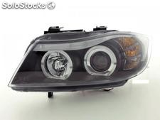 Faros delanteros angel eyes bmw serie 3 (E90/E91)