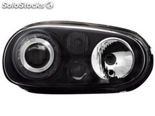 Faros vw golf iv 97-04 R32-look negro