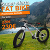 Fat Bike bicicleta todo terreno bep-011