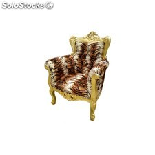 fauteuil blanc prince