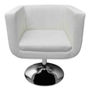 Fauteuil Design Club Blanc x2 - Photo 4