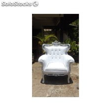 fauteuil rococo prince new