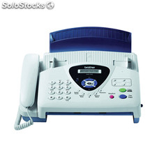 Fax brother t104 transferencia termica de papel normal con telefono