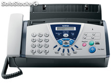 Fax brother t106 transferencia termica de papel normal con telefono
