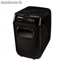 Fellowes - AutoMax 200C Cross shredding Negro triturador de papel