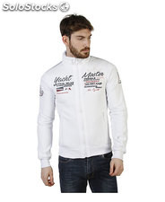 felpe uomo norway geographical bianco (41199)