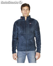 felpe uomo norway geographical blu (40015)