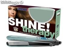 Fer à lisser en céramique remington shine therapy